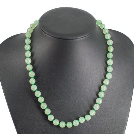 zeleni aventurin, ogrlica, energijski nakit, kristali, ezoterika