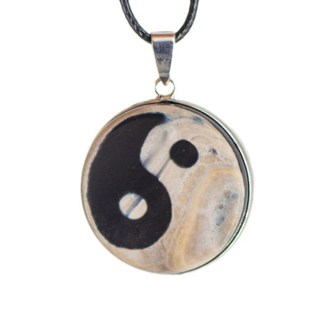 agate, yin yang, necklace, energy jewlery