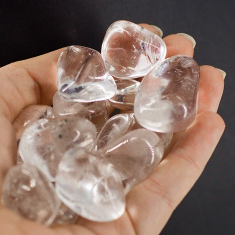 CRYSTAL QUARTZ pocket gemstone