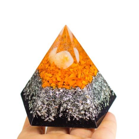 citrin, šungit, orgonit, piramida, pentagram, ezoterika, zaščita, orgoniti