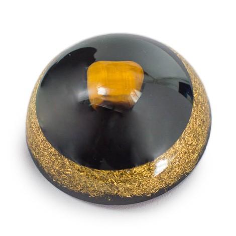 tigrovo oko, šungit, orgonit, polobla, ezoterika trgovina s kristali