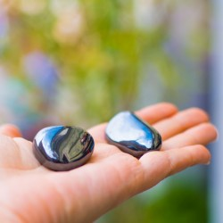 grounding gemstone, HEMATITE pocket gemstone