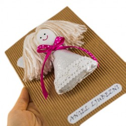 ANGEL OF LOVE doll with lavender