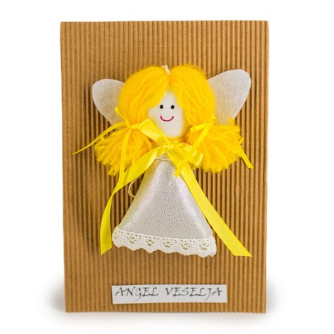 ANGEL OF JOY doll with lavender