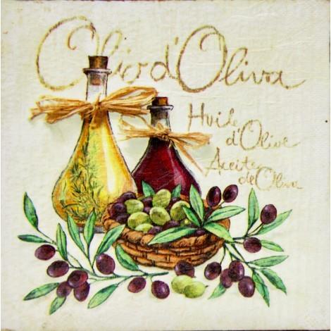 slika olio d' oliva mala