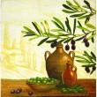 slika oljčna veja mala