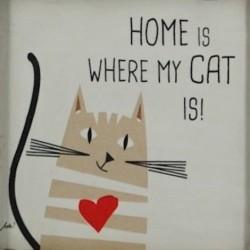 slika i love cat