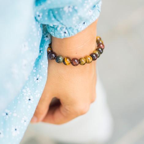 MULTICOLOR TIGER EYE bracelet