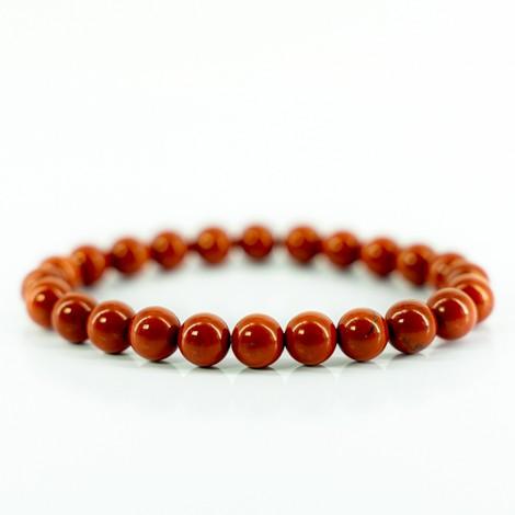 rdeči jaspis zapestnica energijski nakit