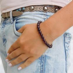 garnet energy bracelet