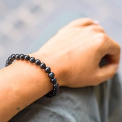OBSIDIAN bracelet, energy jewelry