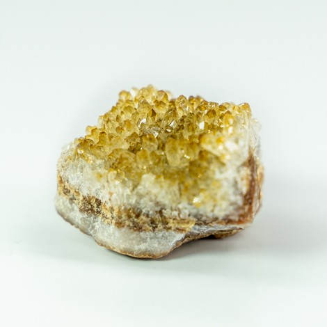 citrine natural raw cluster crystal