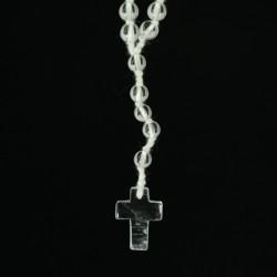 rock quartz rosary