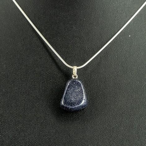 blue sunstone necklace, energy jewlery