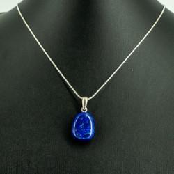lapis lazuli crystal necklace
