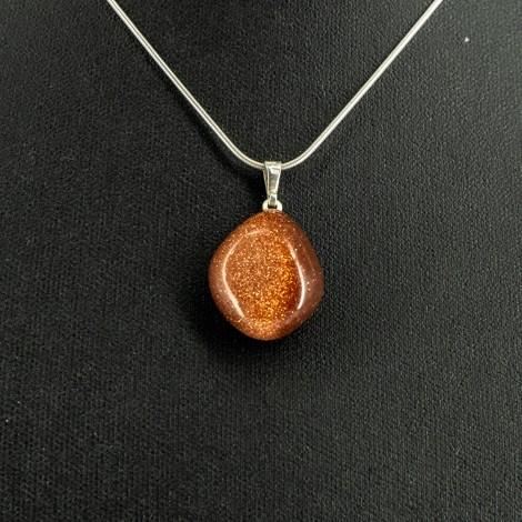 sončev kamen energijska ogrlica, osebna moč, optimizem