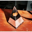 carnelian, orgonite, home protection, emission protection, orgone pyramid
