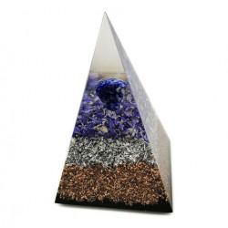 LAPIS LAZULI orgonite pyramid