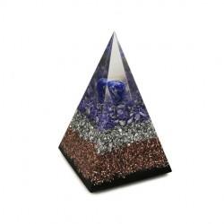 lapis lazuli orgonit piramida, orgoniti za prostor, lepo darilo, zaščita, energija
