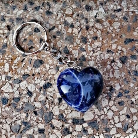 sodalit, obesek za ključe, grlena čakra, komunikacija, trgovina s kristali