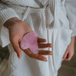 gua sha rose quartz crystal shop