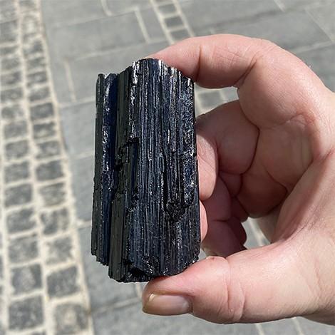 black tourmaline, natural raw crystal, crystal shop