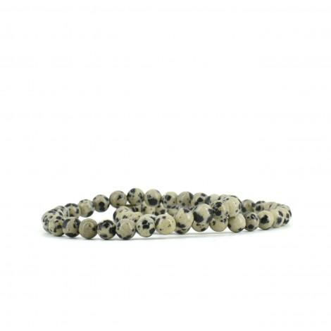 dalmatin jaspis zapestnica, energijski nakit, čustvene blokade, trgovina s kristali