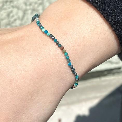 unique and original handmade bracelet, perfect gift idea, crystal shop