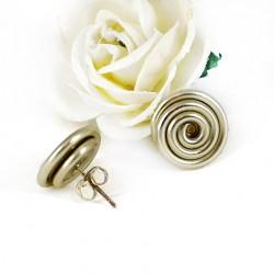 ročno delani uhani, unikaten nakit, ideja za darilo