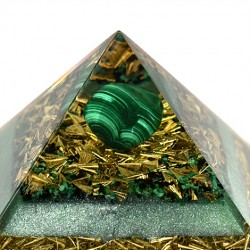 hand made orgonite pyramide, hand made in slovenia