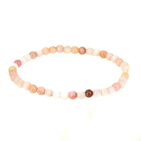 pink opal energy bracelet, pink opal crystal, crystal shop