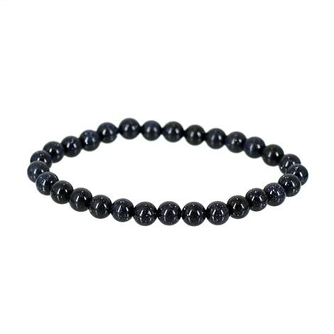 energy bracelet with blue sunstone crystal, crystal shop