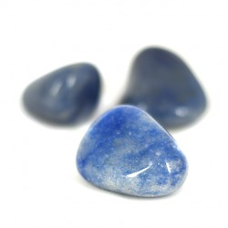 blue quartz pocket gemstone, crystal shop, real crystals