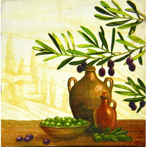 olive slika decoupage kuhinjska