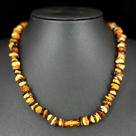 amber crystal, hand made necklace, energy necklace, crystal shop