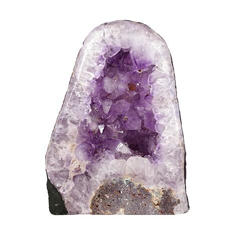 ametist surova geoda, trgovina s kristali