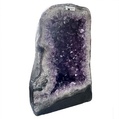 amethyst natural crystal geode, bigger raw crystal, crystal shop