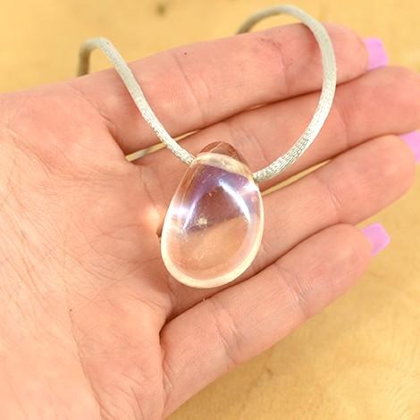 aqua aura crystal, energy pendant, crystal shop