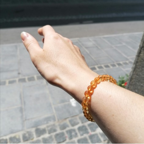 CITRIN zapestnica, energijski nakit,  trgovina s kristali
