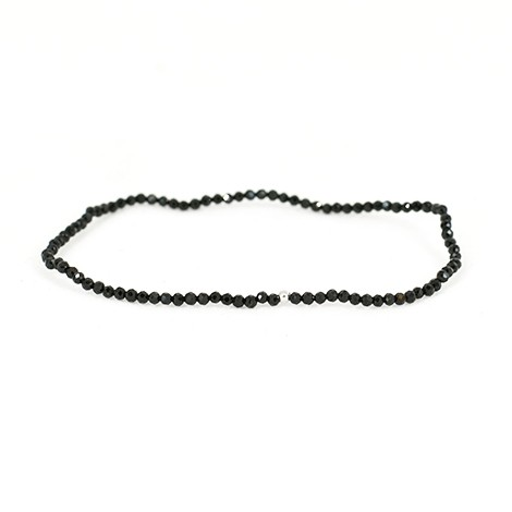 black tourmaline crystal, energy necklace, crystal for proteciton, crystal shop