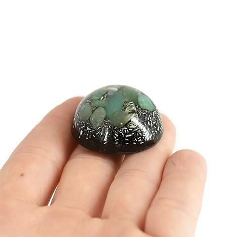 zeleni aventurin, šungit, orgonit polobla, trgovina s kristali