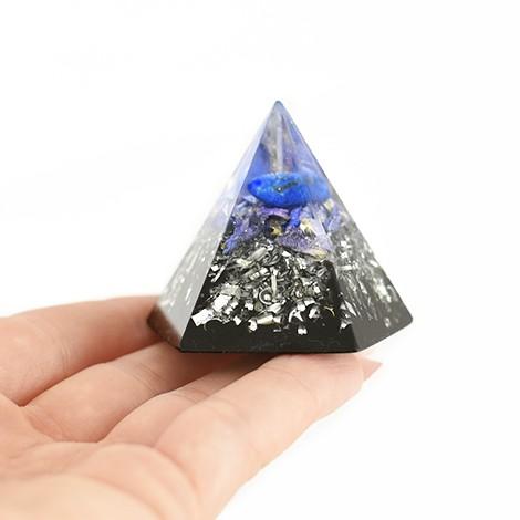 lapis lazuli crystal, crystal shop, orgonite pyramid