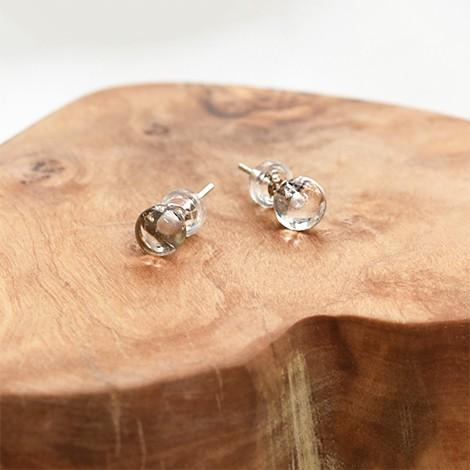 clear quartz earrings, crystal shop, energy jewelery