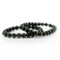 energy bracelet obsidian crystal