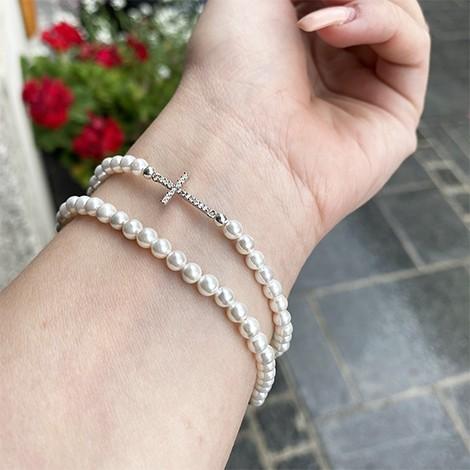 biser, energijska zapestnica, energijski kristali, biser ugodna cena, nakit iz biserov, darilo za birmo, darilo za ženske