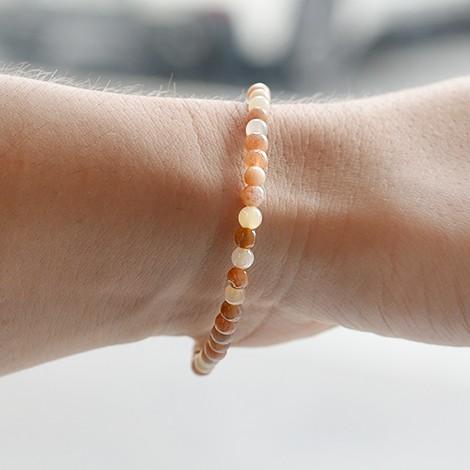moonstone crystal bracelet, energy jewelry, crystal shop