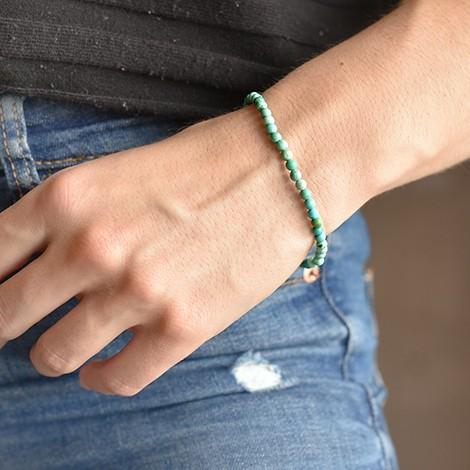turkiz svetli kristalna zapestnica, trgovina s kristali, energijski nakit