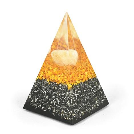 CITRIN ŠUNGIT PIRAMIDA, orgonit piramida, trgovina z orgoniti