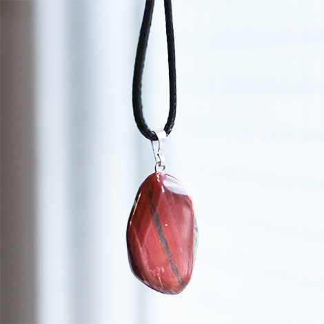 breckie jasper, energy necklace pendant, crystal shop