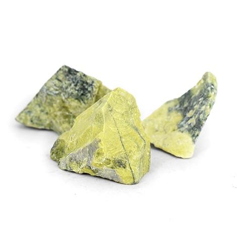 naravni surovi kristal serpentin, trgovina s kristali